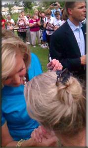 Ann Romney Chairobics